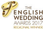 The English Wedding Awards 2017 - Regional Winnder